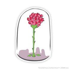 La rose du petit prince